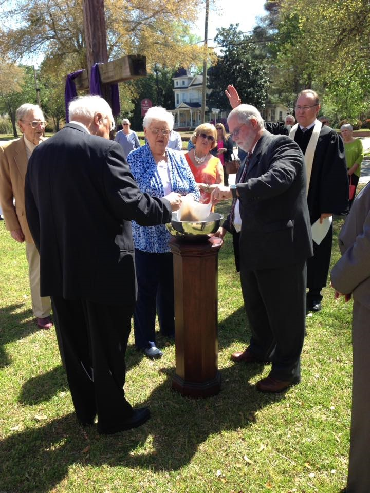FUMC burning of mortgage